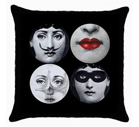 666PC Chris G Dodge 2016 New Home Pillow Cover Decorate Funny Piero Fornasetti Pillowcase Zippered Kissenbezüge - Cover Dodge Bed
