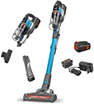 Black+Decker 4-in-1 Cordless Powerseries Extreme Stick Vacuum Cleaner, 36V, 1.5 Ah, Blue - BDPSE3615-QW, 2 Yea