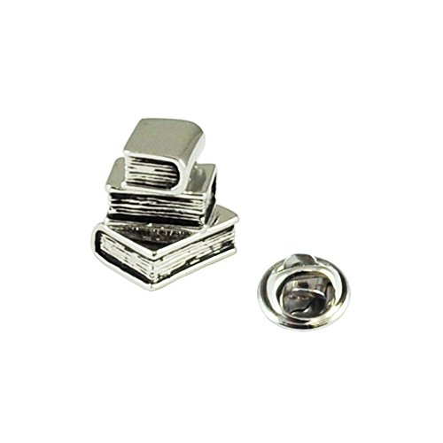 Price comparison product image Library Books Lapel Pin Badge