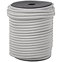 Cofan 08101077A - Cuerda elástica (6 mm x 100 m) color blanco