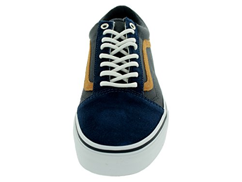 Vans Old Skool Scarpe Da Ginnastica Basse, Unisex Adulto Multicolor (dress blues blue graphite)