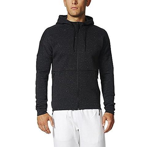 adidas Stadium Sweat-shirt à capuche Homme, Noir, FR : L (Taille Fabricant : L)