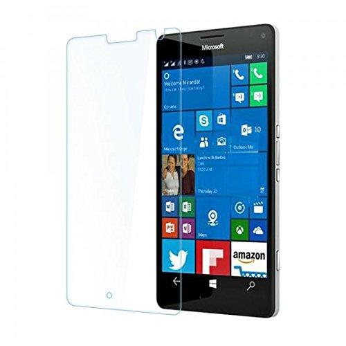 ECENCE 1x Panzerfolie 3D Touch Schutzglas Echt Glas kompatibel für Microsoft Lumia 950 XL 0.33mm dick 9H Tempered Glass 43040506