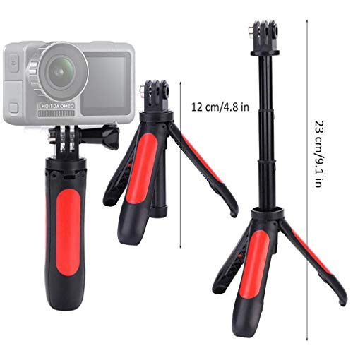 Webla Stativstock, erweiterbares Selfie-Einbeinstativ mit Stativ-Selfie-Stick für DJI OSMO Sportkamera, abs -