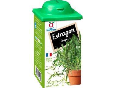 TOUPARGEL - Estragon coupé - 50 g - Surgelé