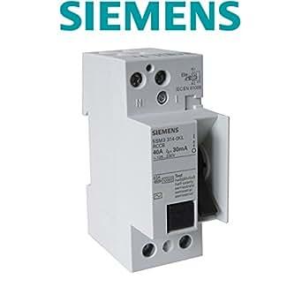 Interrupteur différentiel 2x40A 30Ma type AC