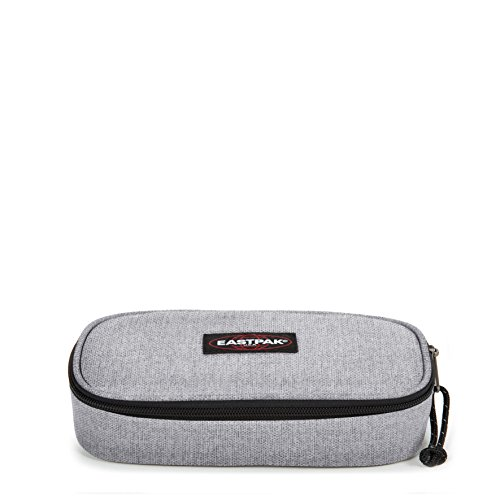 Eastpak Oval Single Estuche, 22 cm, Gris (Sunday Grey)