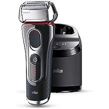 Braun Series 5 5090 cc - Afeitadora eléctrica con estación Clean&Charge