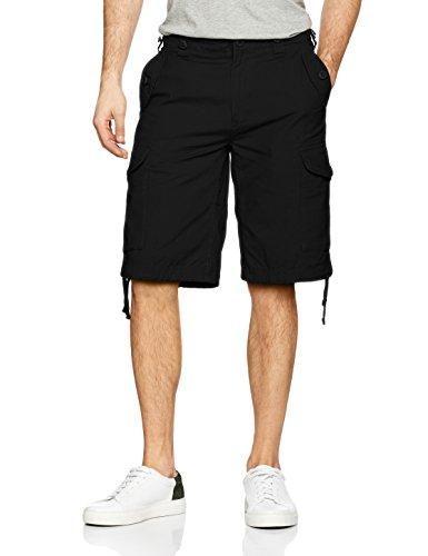 Brandit Herren Hudson Ripstop Shorts, Schwarz (Black 2), 58 (Herstellergröße: 3XL)