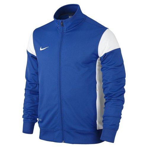 Nike Kinder Sweatshirt Sideline Knit Trainingsjacke, Royal Blue/White, S (Jungen Winter Nike Mäntel)