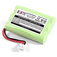 BAKTH 900mAh Batteria di ricambio da 3.6V Ni-MH per Motorola MBP33 MBP36 MBP33S MBP36S MBP-33S MBP-36S MBP33BU MBP33P MBP35 MBP36PU MBP41 MBP43 MBP18 CB94-01A Baby Monitor
