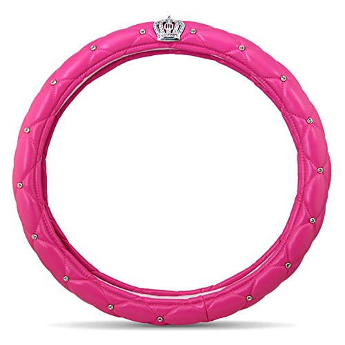 Newl auto coprivolante per ragazze e donne–carino e rosa, in lattice naturale atossico e inodore guida sicura (nero)