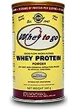 Solgar 340 g Whey To Go Natural Vanilla Flavour Protein Powder