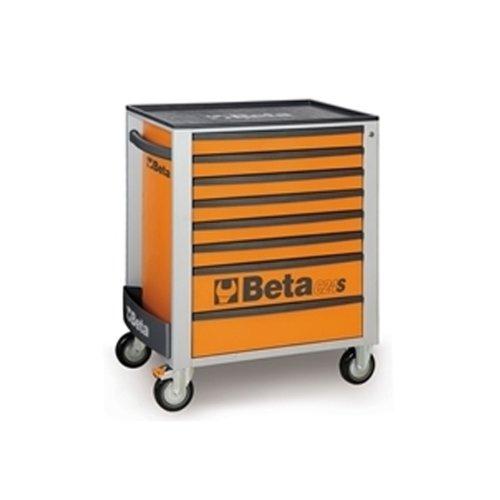 Beta C24S / 8 Orange Mobile Werkstattwagen mit acht Schubladen