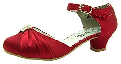 Rsb vicky chaussures de catch pour fille rouge rouge - Catch de fille ...