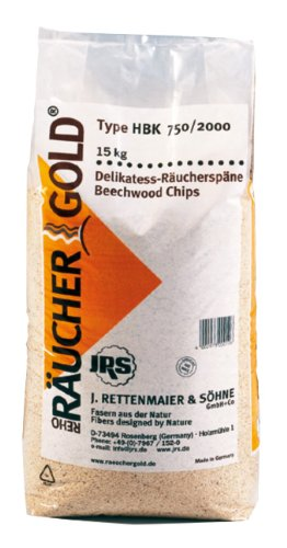 Räucherspäne Buche (0,75-2,0mm) Rettenmaier Räuchergold
