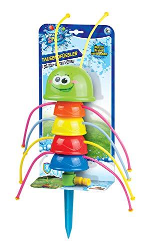 Xtrem Toys 00325 - Wasser Spaß Tausendfüßler - Sprinkler, spritziger Spielspaß für Kinder ab 6 Jahre, ideal für den Garten, im Sommer, einfach an den Gartenschlauch anschließen