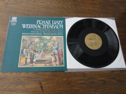 Franz Liszt / Weihnachtsbaum / 12 Stücke für Klavier zu vier Händen / LP Vinyl