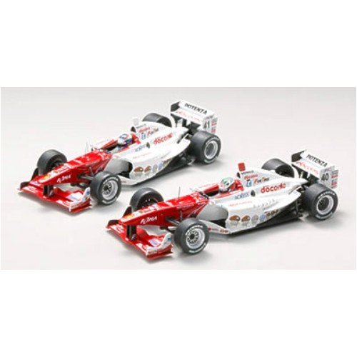 EBBRO 1/43 F / N DoCoMo Dandy Ryan # 40 2008 White / Red (resin model) (japan import)