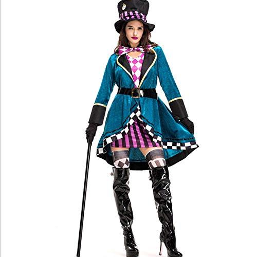 AIYA Halloween Hut Erwachsene weibliche Models Magier Performance Kleidung Nachtclub Animal Trainer - Weibliche Magier Kostüm