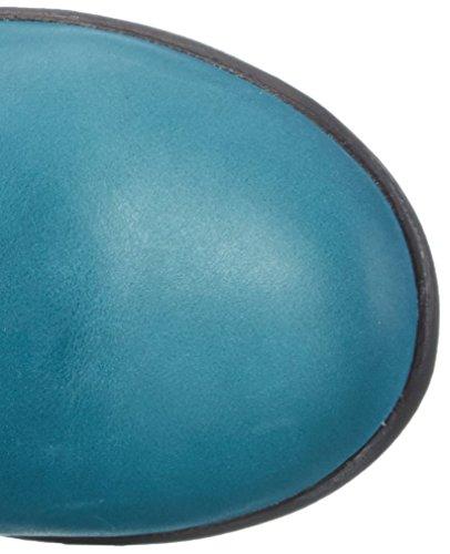Think - Inua, Stivali e stivoletti alti imbottiti caldi Donna Blu (Blau (PETROL/KOMBI 88))