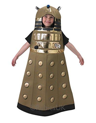 Kostüm Kinder Kostüm Doctor Who, Dalek, mittel, Age 5–6Jahre, Größe & # x202F;: 3'25,4cm