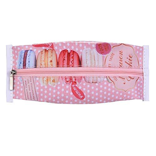 TianranRT 1 Stück Niedlich Obst Bleistift Koffer Bleistift Tasche Mädchen Schreibwaren Büro Mini Portemonnaie Beutel (H) - Mini-bleistift-kasten