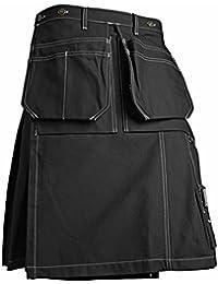 Image of Blakläder 856613709900C44 Artisan Kilt talla 44, color negro
