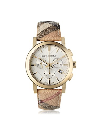 Burberry Watch 'the City' gold chrono 38mm New BU9752