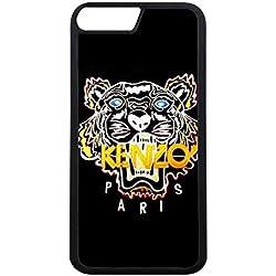 Kenzo Logo Coque Case iPhone 7 plus Coque De Protection,Marque Célèbre Kenzo Logo Étui Housse,Simple Style Etui Coque iPhone 7 plus