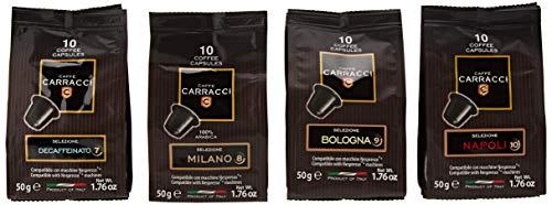 Caffè Carracci Kit 100 cialde capsule compatibili Nespresso...
