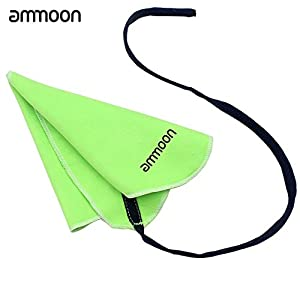 Ammoon Pull-Through Cleaning Cloth Small Woodwind Clarinet Flute Saxophone