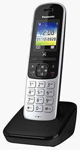 Panasonic Schnurlostelefon KX-TGH710GS mit Farbdisplay, Babyphone und Eco Plus Modus