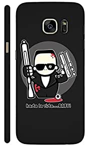 Aatank Premium Printed Mobile Case Back Cover for Samsung Galaxy S7 Edge