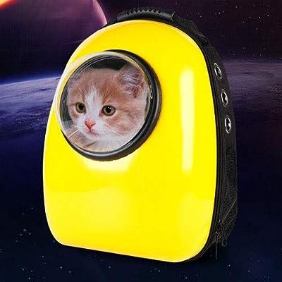 MUMUMI Pet out, Portátil, Mochila Pet Mochila Cápsula Espacial Agujeros de ventilación múltiples diseñados para Viajes, Salidas, Caminatas y Uso al Aire Libre Se Pueden Usar Gatos y Perros por MUMUMI