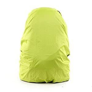 41I988MgsHL. SS300  - Set of 2 [LIME] Camping/Hiking Twin-side Water-proof Backpack Rain Cover,45-55L