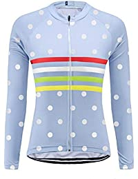 Uglyfrog Bike Wear Maillot de Ciclismo/Mujer Mangas Largas Bodies Ropa para Bicicleta 3D Cojín