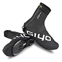 Lixada Winter Cycling Lock Shoes Cover MTB Road Bike Overshoes Waterproof Windproof Warm Fleece Cycling Shoes Covers Bike Shoes Protector