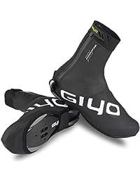 Lixada GIYO Cubierta de Zapatos de Bloqueo de Ciclismo en Invierno Cubrebotas MTB Impermeable A Prueba de Viento Calzado de de Vellón Cálido (XL)