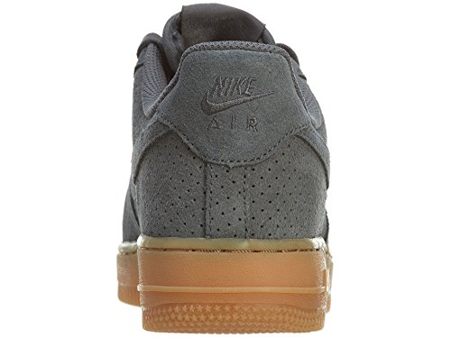 Nike Wmns Air Force 1 '07 Suede, Chaussures de Sport Femme Dark Grey/Dark Grey