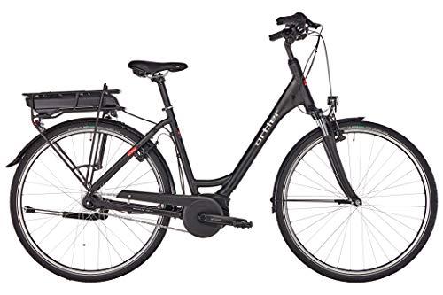 Ortler Wien Damen Wave Black matt Rahmenhöhe 50cm 2019 E-Trekkingrad