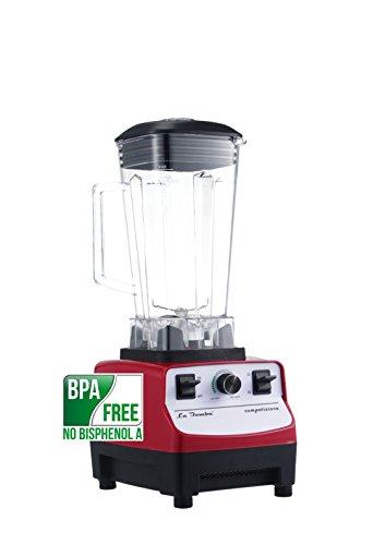 Mixer La Bomba® Competizione II, Hochleistungsstandmixer, Smoothiemaker, Ice Crusher, rosso/bianco, 38000 rpm