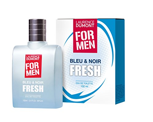 Laurence Dumont - for men - Bleu & noir - fresh - fabrication 100% francaise - eau de toilette - 100 ml