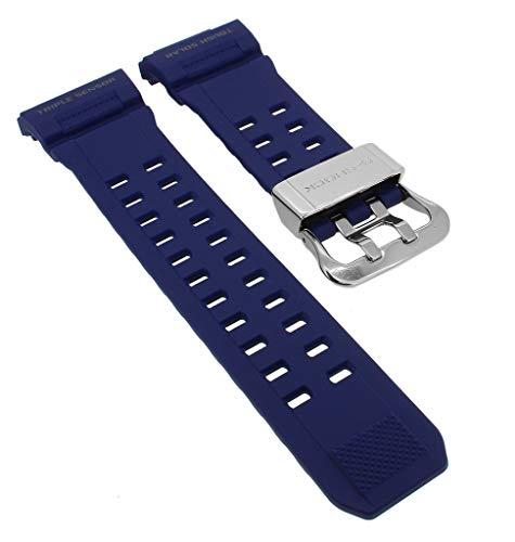 Casio - Correa de Repuesto para Reloj de Pulsera para Hombre (Resina/Carbono, para G-Shock Rangeman...