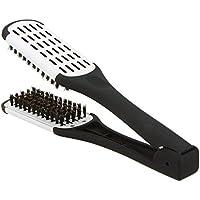 Abody Plancha profesional de la peluquería herramienta cepillo dos caras pelo alisado abrazadera