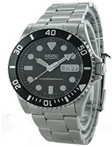 Seiko Men's SKX031K2 Stainless-Steel Automatic Watch with Black Dial