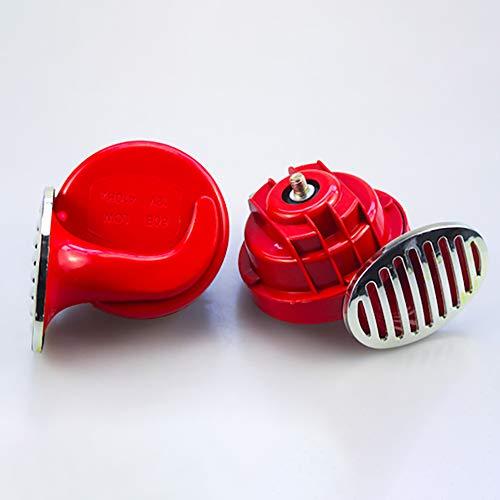 JIAOXM Universal Schneckenhorn,12V115DB air Horn Auto wasserdicht Horn elektrische Horn für Motorrad Auto Auto Roller(1 Paar),B