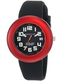 Momentum Alter Ego 1M-SP99BD1B - Reloj analógico de cuarzo para mujer, correa de silicona color negro