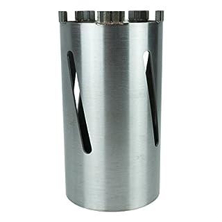 Diamantbohrkrone Laser Turbo M16 Ø 127 mm Trocken-Kernbohrkrone Diamant-Bohrkrone M16 NL= 180 mm für Beton, leicht armiertem Beton, Allg. Baumaterialien, Mauerwerk, etc. - BoDi-TOOLS