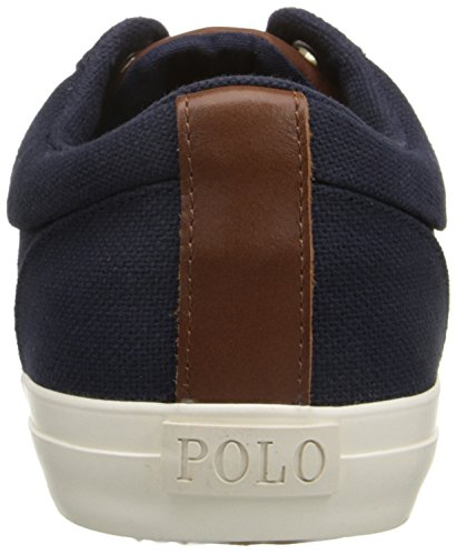 Polo Ralph Lauren Geffrey-sk Fashion Sneaker Newport Navy/Tan
